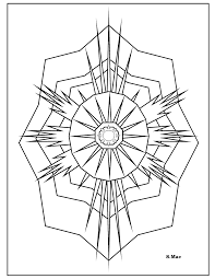 spectacular geometric coloring pages with geometry coloring pages