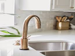 venetian champagne bronze kitchen faucet single hole handle side