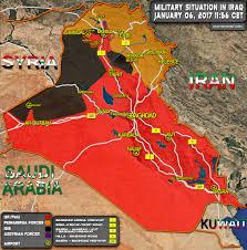 map of irak complete battlefield map of iraq january 2017