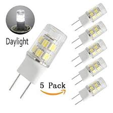 bqhy g8 bi pin led bulb 2 watts daylight 6000k 20w equivalent t4