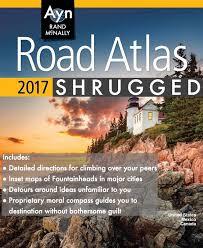 Atlas Shrugged Meme - uuum on twitter ayn rand mcnally road atlas shrugged by