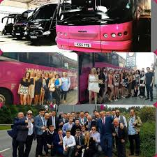 party bus prom home yorkshire party bus