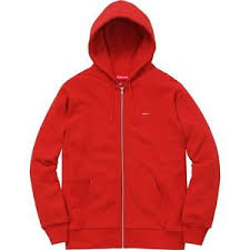 supreme small box logo thermal zip up sweatshirt m red camp cap f