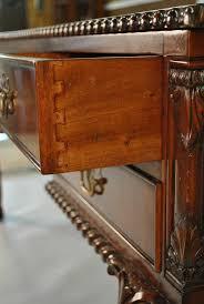 mahogany partners desk fine mahogany desk