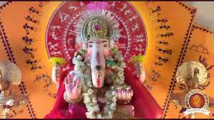 Home Ganpati Decoration Siddhant Pitale Home Ganpati Decoration Video Www Ganpati Tv