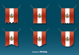 Old Lebanese Flag Vector Hanging Flags Of Peru Set Download Free Vector Art Stock