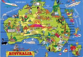 Australian Outback Map Australia Map Australia Map And Australia