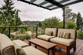Outdoor Livingroom Ballard Outdoor Living Space Sawhorse Design U0026 Build