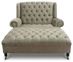 Indoor Chaise Lounge The Wonderful Maddox Tufted Chaise Traditional Indoor Chaise