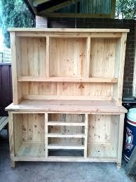kitchen impressive diy kitchen hutch plans wooden pallets pallet