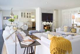 Modern Beach Living Room East Hampton Beach House Beautiful Beaches And House