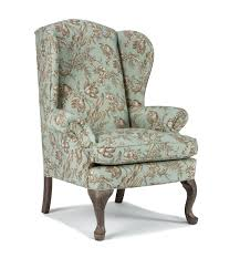 High Back Wing Chairs For Living Room Best Home Furnishings Chairs Wing Back Sylvia Wing Back Chair Wing