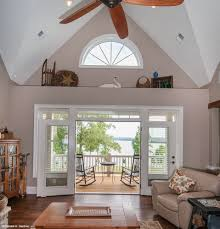 french doors open to a lovely back porch http www dongardner