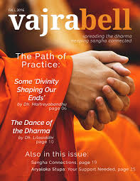 vajra bell newsletter fall 2016 by the buddhist centre online