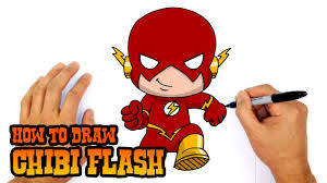 how to draw flash chibi step by step video dailymotion