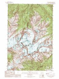 Mount Washington Map by Mount Olympus Topographic Map Wa Usgs Topo Quad 47123g6
