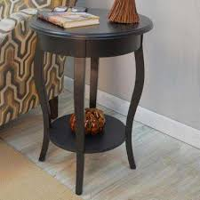 end table black 24 ore international black end tables accent tables the home depot