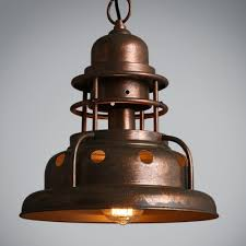 Copper Light Pendant Fashion Style Copper Pendant Lights Industrial Lighting