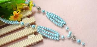 necklace designs making images Pearl jewelry designs how to make a beaded long fashion necklace jpg