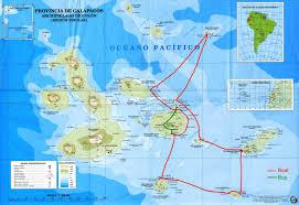 Galapagos Map The Galapagos Islands
