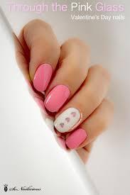 easy valentine u0027s day nail art tutorial