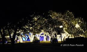 spectacular lighted trees bring in johnson city