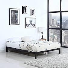 Metal Platform Bed Frame King Amazon Com Modern 8