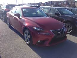 lexus pre owned interest rates pre owned 2015 lexus is350 executive package in kingston used