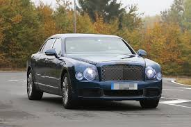 bentley front 2017 bentley mulsanne spyshots reveal long wheelbase model arnage