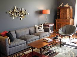 living room blue gray youtube