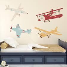 nursery wall decals rocky mountain decals airplane wall decal plane wall decal airplane vinyl wall decor old school airplanes from