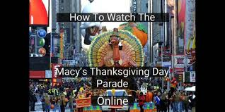 how to the macy s thanksgiving day parade cut the cord