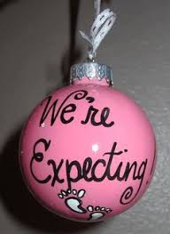 we re expecting baby ornament we re