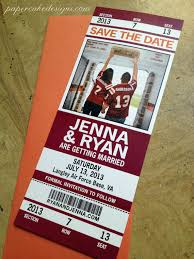 baseball wedding sayings football wedding save the date ticket can we get married