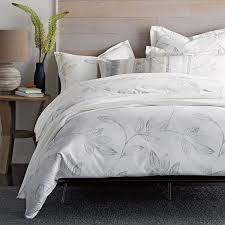 symphony leaf organic sateen sheets u0026 bedding set the company store