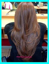 back of hairstyle cut with layers and ushape cut in back u shaped haircut with layers back view archives my salon