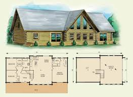 log home floor plans with loft log home floor plans with loft and garage home deco plans