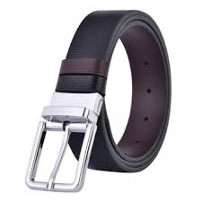 business mens dress belt leather reversible rotated buckle