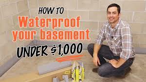 diy basement waterproofing basements ideas