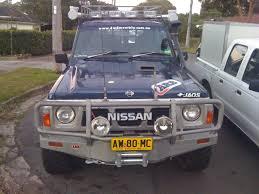nissan patrol 1989 1989 nissan patrol gq 4x4earth