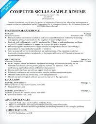 retail resume skills and abilities exles list of skills and abilities for a resume
