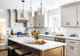 what color countertop with beige cabinets beige rustic kitchen cabinets