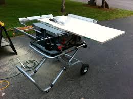 bosch 4100 09 10 inch table saw the best portable table saw dewalt dw745 or bosch 4100 09
