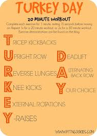 turkey day workout mint dc