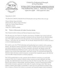 letter sent to ycusd ycta net