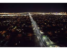 ge evolve led roadway lighting led street lights save millions each year scitech the earth times