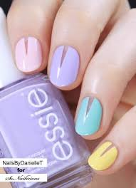 10 negative space nail designs for spring