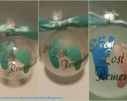 personalized miscarriage or stillbirth remembrance
