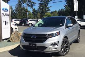Ford Edge Safety Rating 2016 Ford Edge Sport Ebony Perforated Suede Seats Review