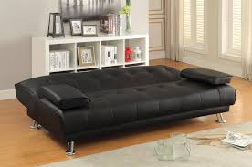 Futon Leather Sofa Bed Sofa Beds And Futons Faux Leather Convertible Sofa Bed With